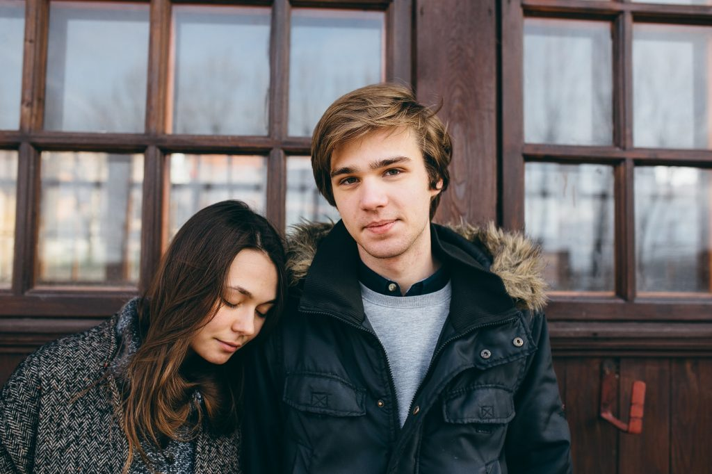 Photo of young adult couple