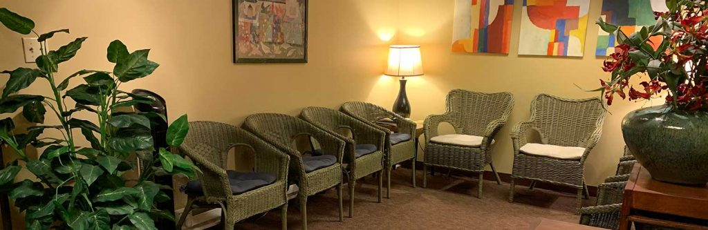 Photo of a counseling waiting room